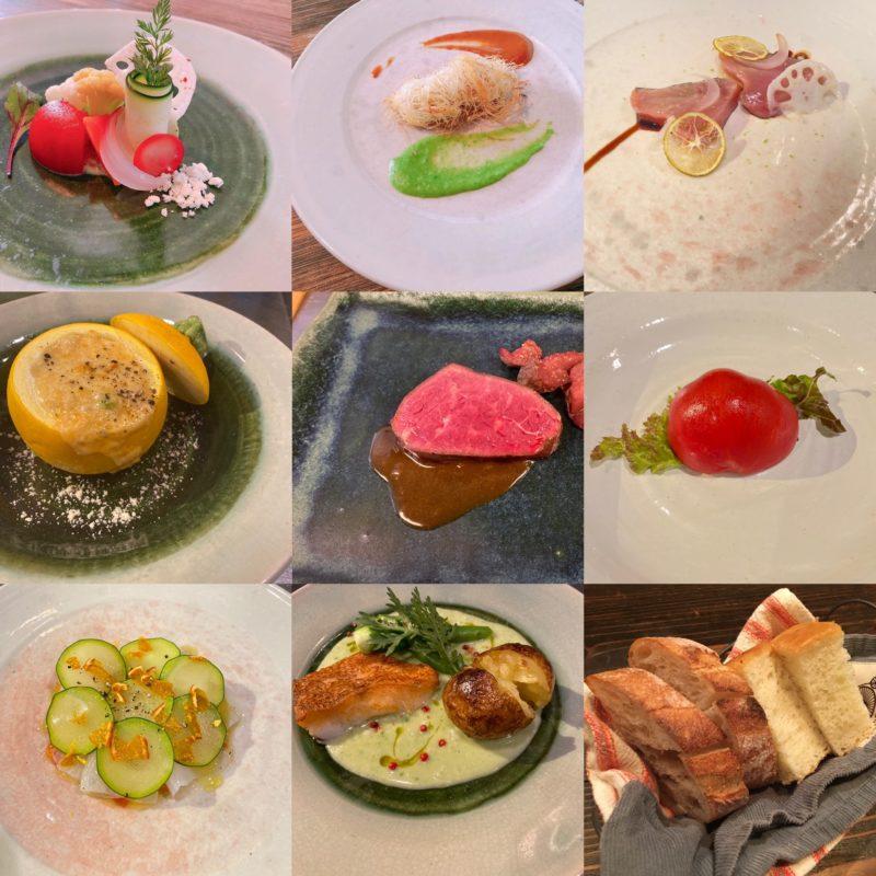 ディナータイムのコース料理について|旬素材dining近咲暮